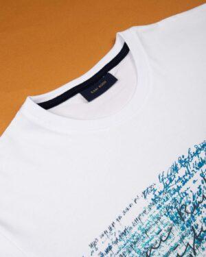 تیشرت نخی مردانه 2012- سفید (3)