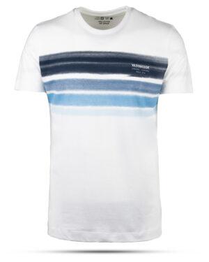 تیشرت نخ پنبه مردانه 00463- سفید (1)
