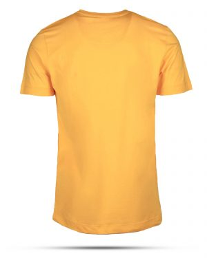 تیشرت پنبه ای مردانه RVK198-T1-زرد (5)