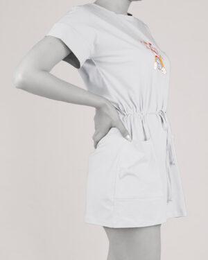 سارافون زنانه 0871- سفید (3)