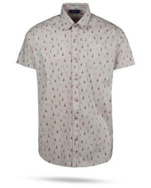 پیراهن مردانه هاوایی 4012- طوسی (1)