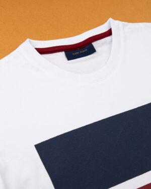 تیشرت اسپرت مردانه 1340-سفید (3)