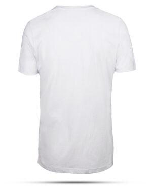 تیشرت نخی مردانه 00475- سفید (3)
