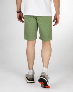 شلوارک کتان مردانه VK001- سبز خزه ای (3)