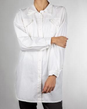 شومیز زنانه 9766- سفید (4)