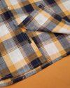 پیراهن مردانه آستین کوتاه VK9919- عسلی (4)