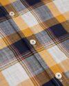 پیراهن مردانه آستین کوتاه VK9919- عسلی (5)