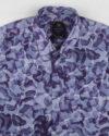 پیراهن مردانه هاوایی 4020- آبی کاربنی (3)