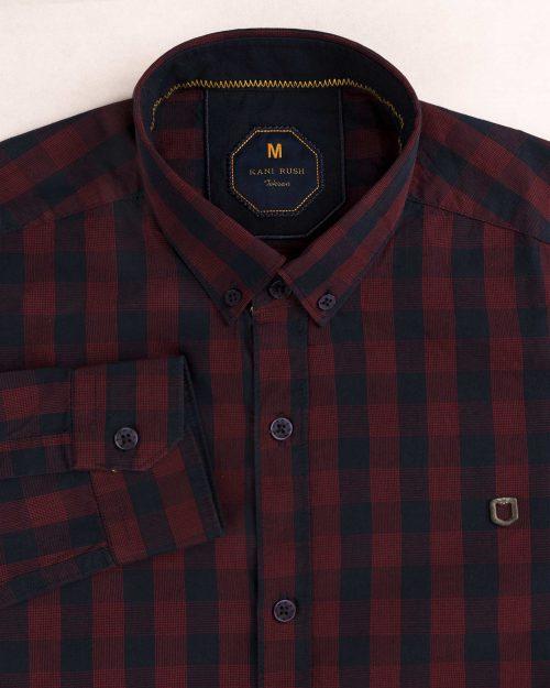 پیراهن مردانه چهارخانه 1425 (7)