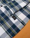 پیراهن مردانه چهارخانه 4028- سرمه ای (4)