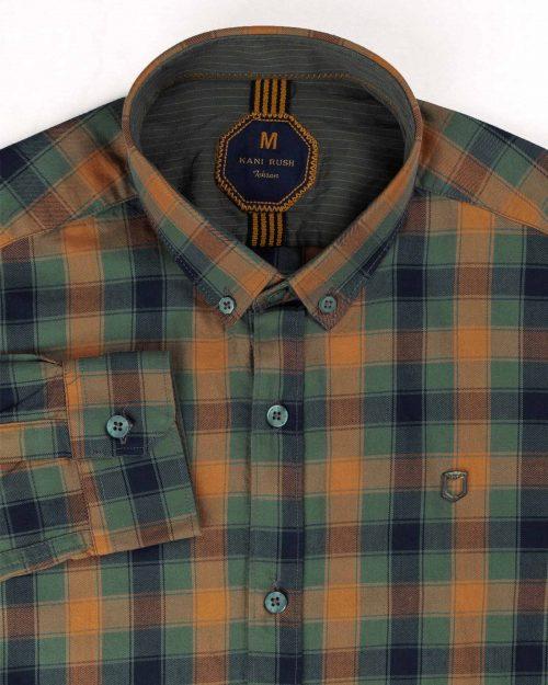 پیراهن مردانه چهارخانه 4405 (3)