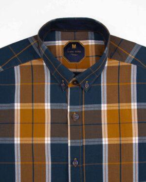 پیراهن چهارخانه مردانه 4010 (5)