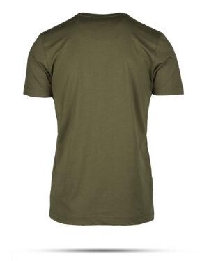 تیشرت مردانه نخی 00513- زیتونی (2)