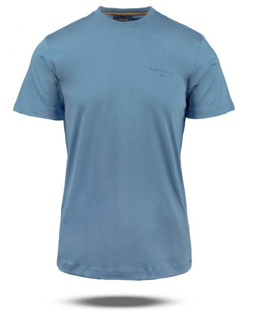 تیشرت نخی مردانه 2035- آبی (1)