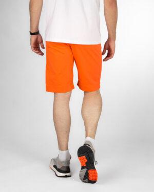 شلوارک مردانه کتان VK003- نارنجی تیره (3)