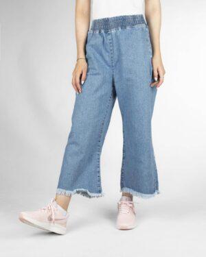 شلوار جین زنانه 80002- آبی (2)