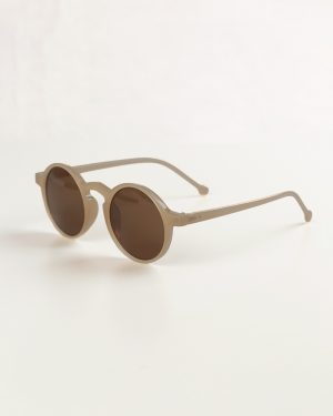 عینک آفتابی زنانه MZ130- خاکی (1)