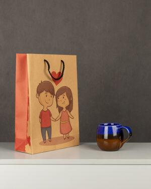 پاکت کادویی Bag01- خاکی (1)
