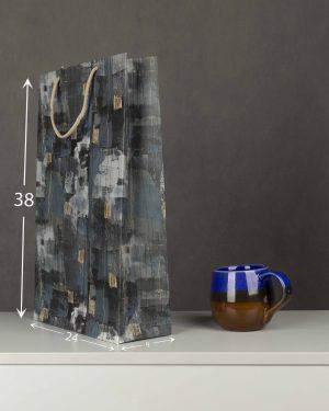پاکت کادویی Bag01- سربی (2)
