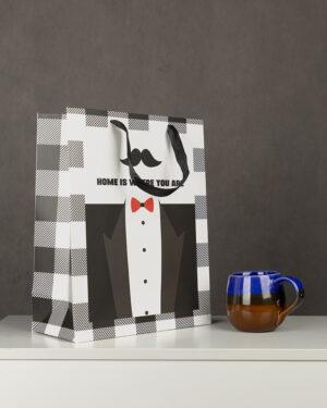 پاکت کادویی Bag01- سفید (1)