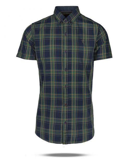 پیراهن چهارخانه مردانه 4007 (1)