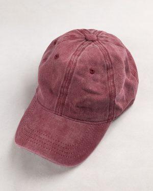 کلاه کپ مردانه K158- صورتی تیره1