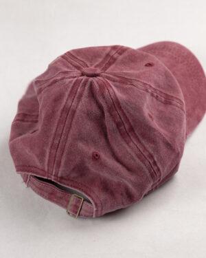 کلاه کپ مردانه K158- صورتی تیره2