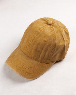 کلاه کپ مردانه K158- عسلی1