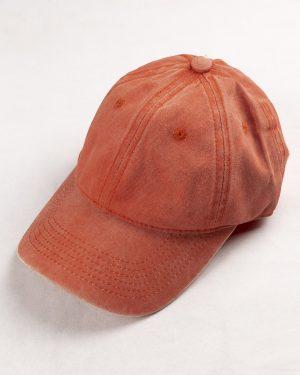 کلاه کپ مردانه K158- نارنجی1
