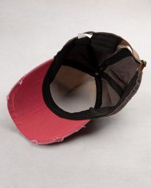 کلاه کپ مردانه K158-T1- ارغوانی روشن (3)