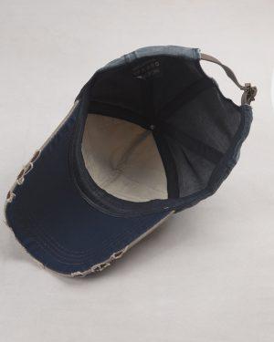 کلاه کپ مردانه K158-T1- قهوه ای تیره (3)