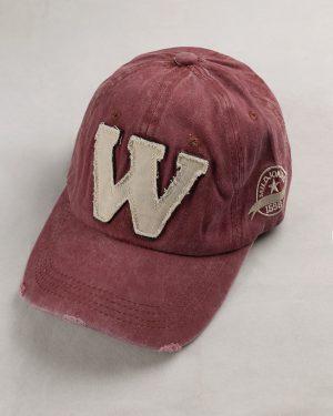 کلاه کپ مردانه K158-T2- صورتی تیره (2)