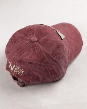 کلاه کپ مردانه K158-T2- صورتی تیره (3)