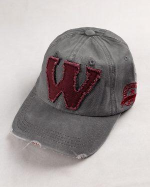 کلاه کپ مردانه K158-T2- نقره ای (2)