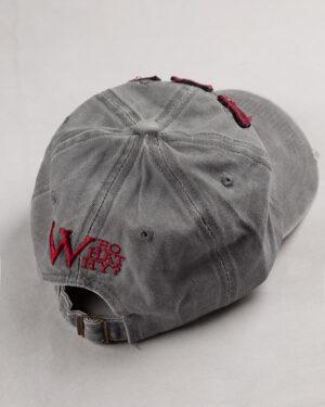 کلاه کپ مردانه K158-T2- نقره ای (3)