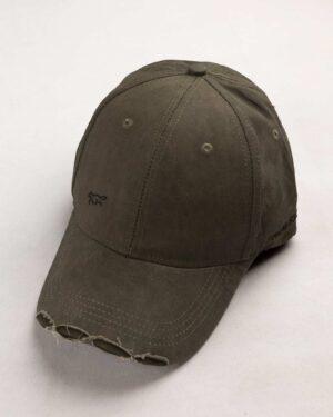 کلاه کپ مردانه K158-T3- زیتونی سیر (2)