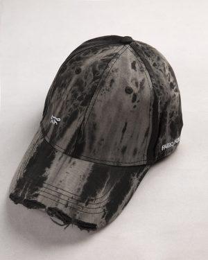 کلاه کپ مردانه K158-T3- مشکی (2)