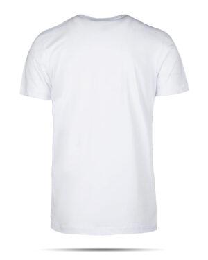 تیشرت نخی مردانه 00537- سفید (3)