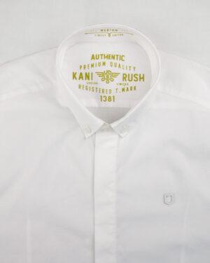 پیراهن آستین کوتاه مردانه 4032- سفید (2)