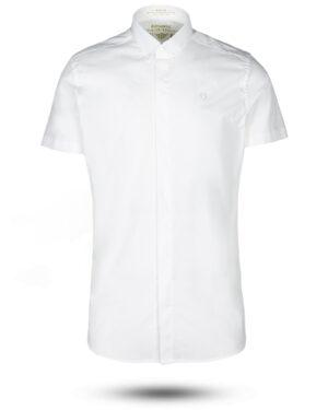 پیراهن آستین کوتاه مردانه 4032- سفید (4)