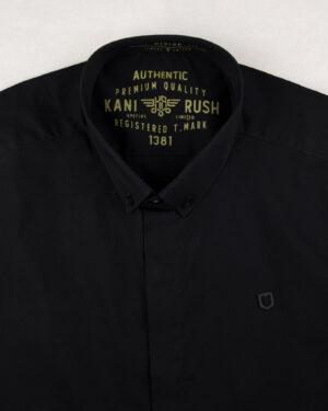 پیراهن آستین کوتاه مردانه 4032- مشکی (4)