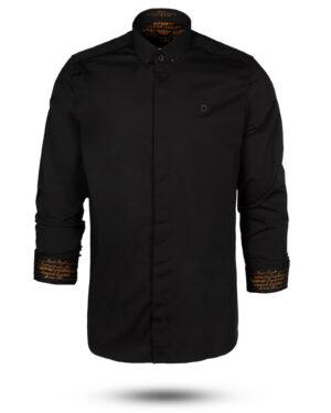 پیراهن مشکی مردانه 4420 (1)