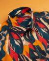 پیراهن هاوایی مردانه 4030- قرمز (7)
