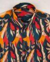 پیراهن هاوایی مردانه 4030- قرمز (8)