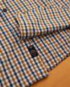 پیراهن چهارخانه مردانه 4026- بادامی (8)