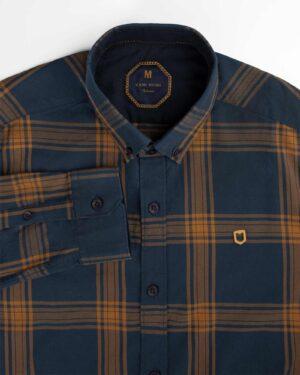 پیراهن چهارخانه مردانه 4410 (4)