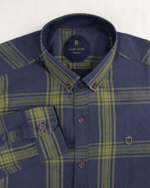 پیراهن چهارخانه مردانه 4419 (3)