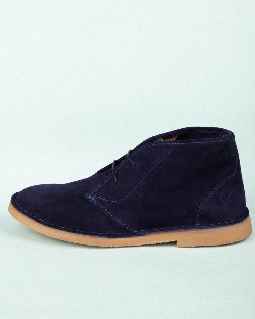 کفش چرم مردانه VK200- سرمه ای (2)