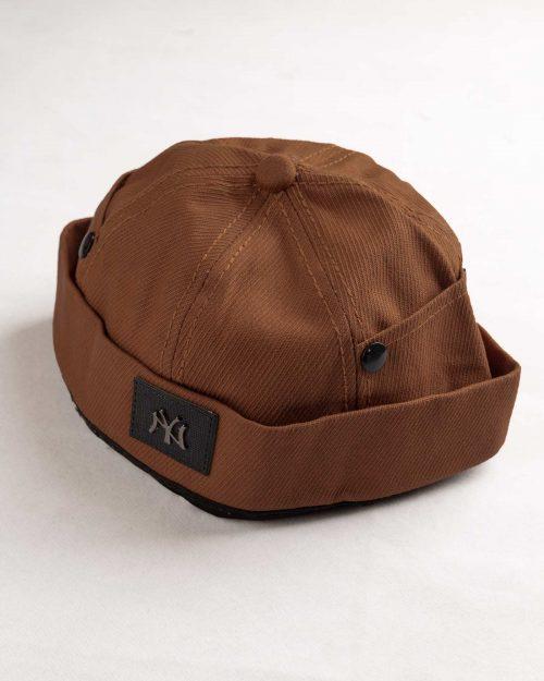 کلاه مردانه لئونی K120- بادامی (1)