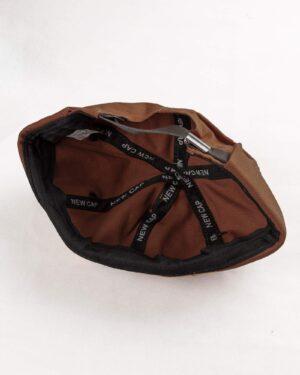 کلاه مردانه لئونی K120- بادامی (2)